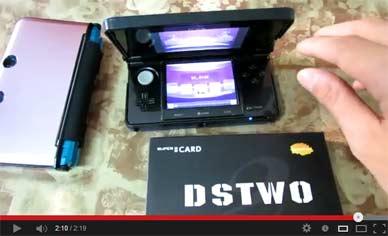 DSTWO fonctionne bien sur 3DS 6.1.0-12e