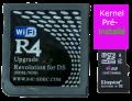 R4 SDHC avec carte mémoire préinstallée Kernel