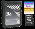 R4 DS carte mémoire de 2 Go avec un noyau pré-installé